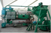 equipment for the production of fish flour